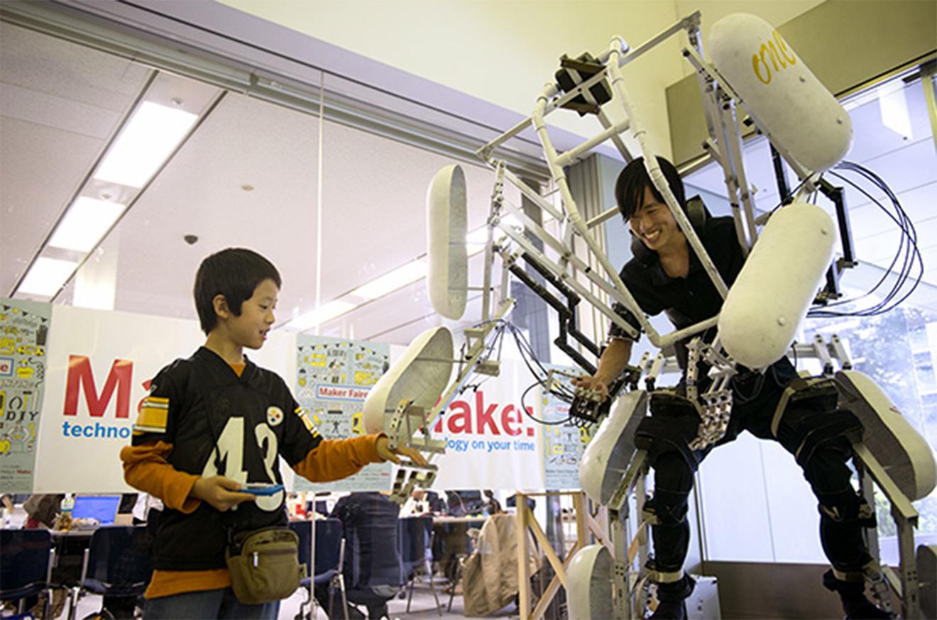 VRイベント,Maker Faire Tokyo 2017 ,イメージ