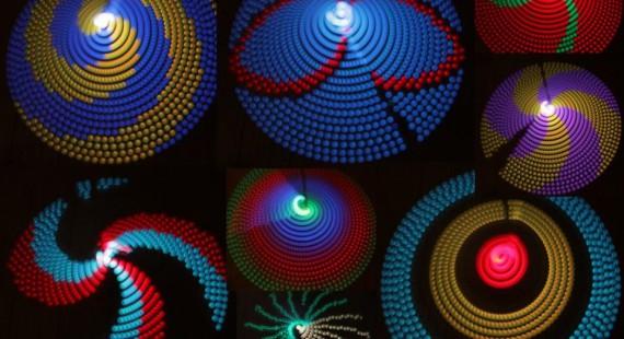 光の流れで遊ぶAfterimage penの画像