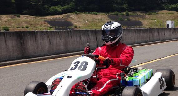 EVレーシングカート『超電動壱号』の画像