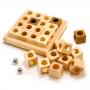 木製知育玩具の画像