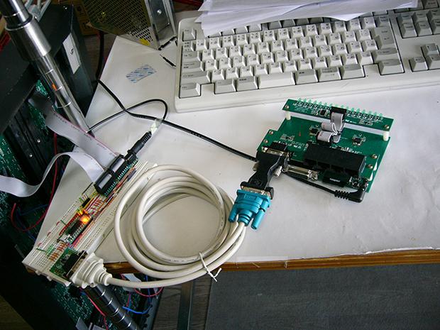 DSPマイコンによるカラオケ仕分けシステムの画像