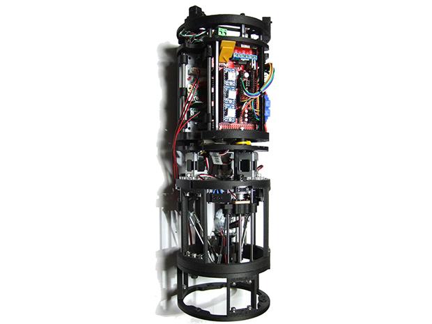 超小型3Dプリンタ「デルタボット」、食品用3Dプリンタの画像