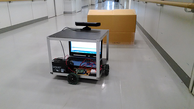 (STH)経路探索&障害物回避自律走行ロボットの画像