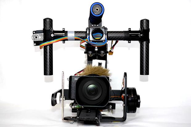 ブラシレスジンバル、カメラスタビライザーの画像