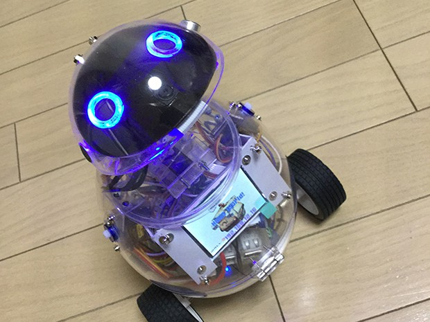 小型ペットロボットの画像