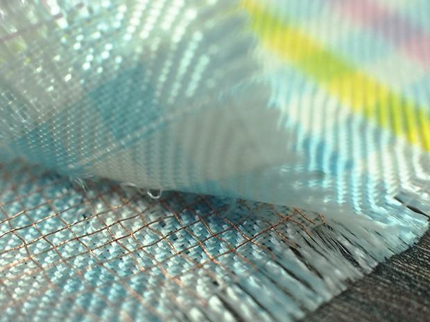導電織物で作ってみたの画像