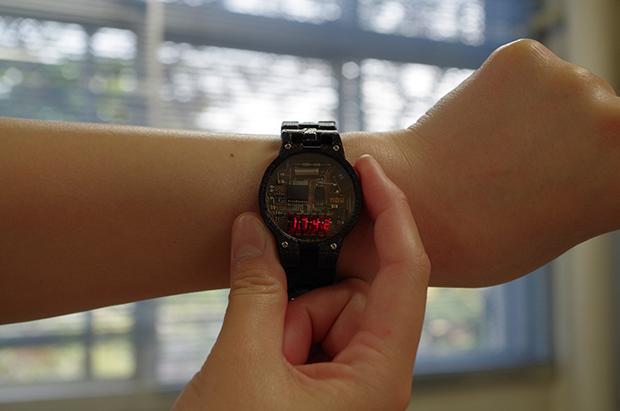 自作腕時計プロジェクトの画像