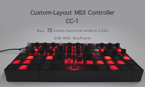 CUSTOM MIDI CONTROLLER『CC-1』の画像
