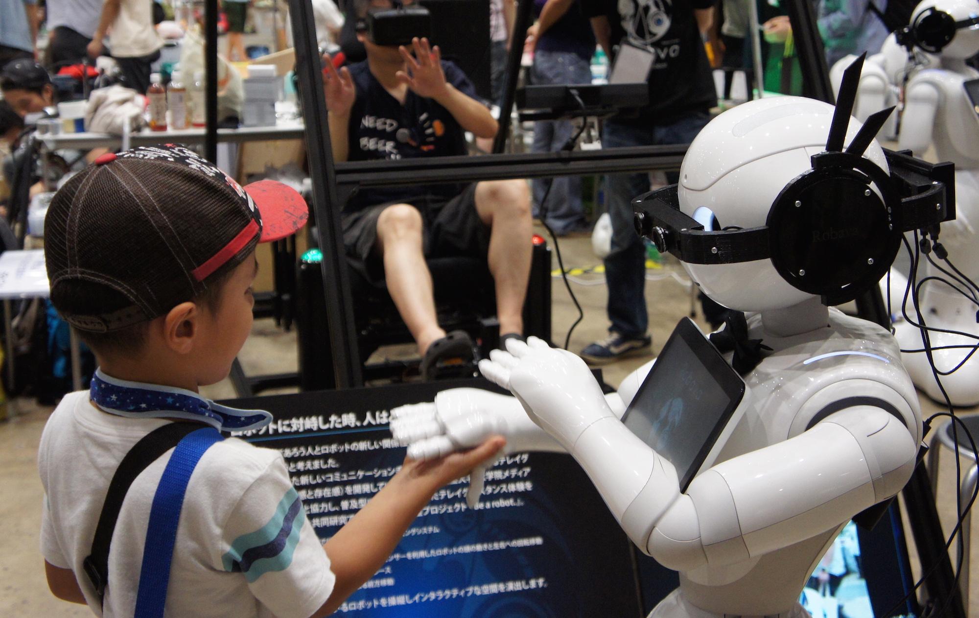 Be a robot.