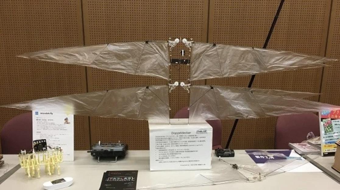 羽ばたき飛行機製作工房