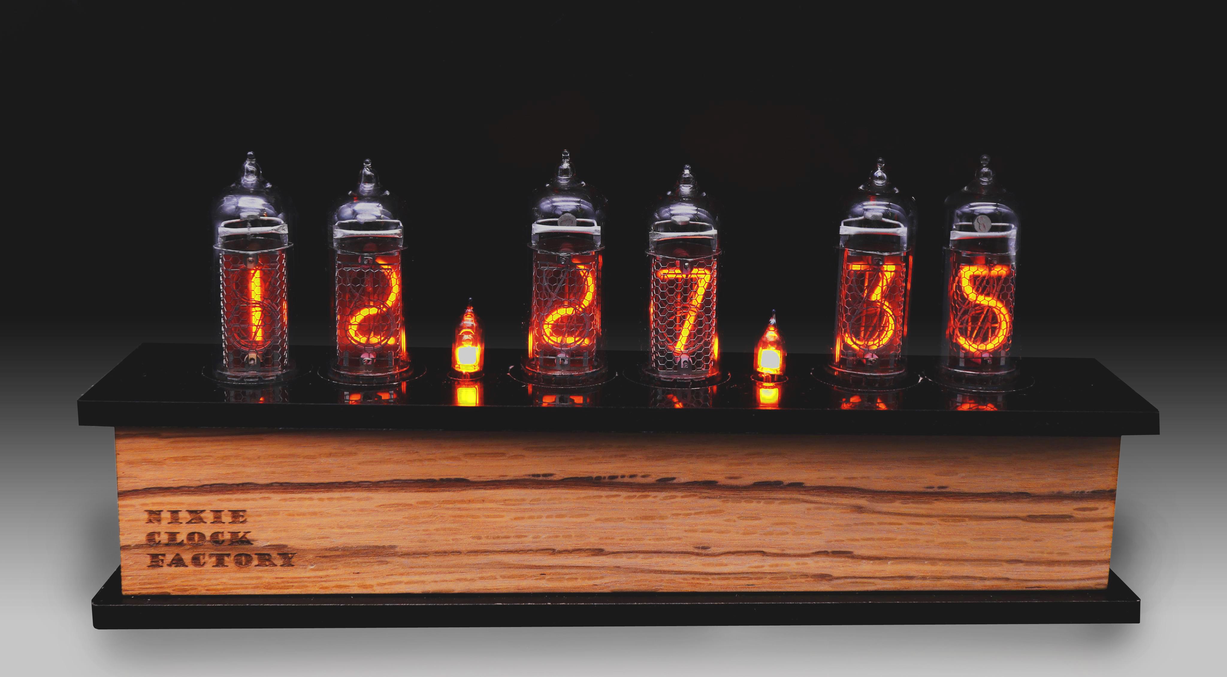 時計 ニキシー 管
