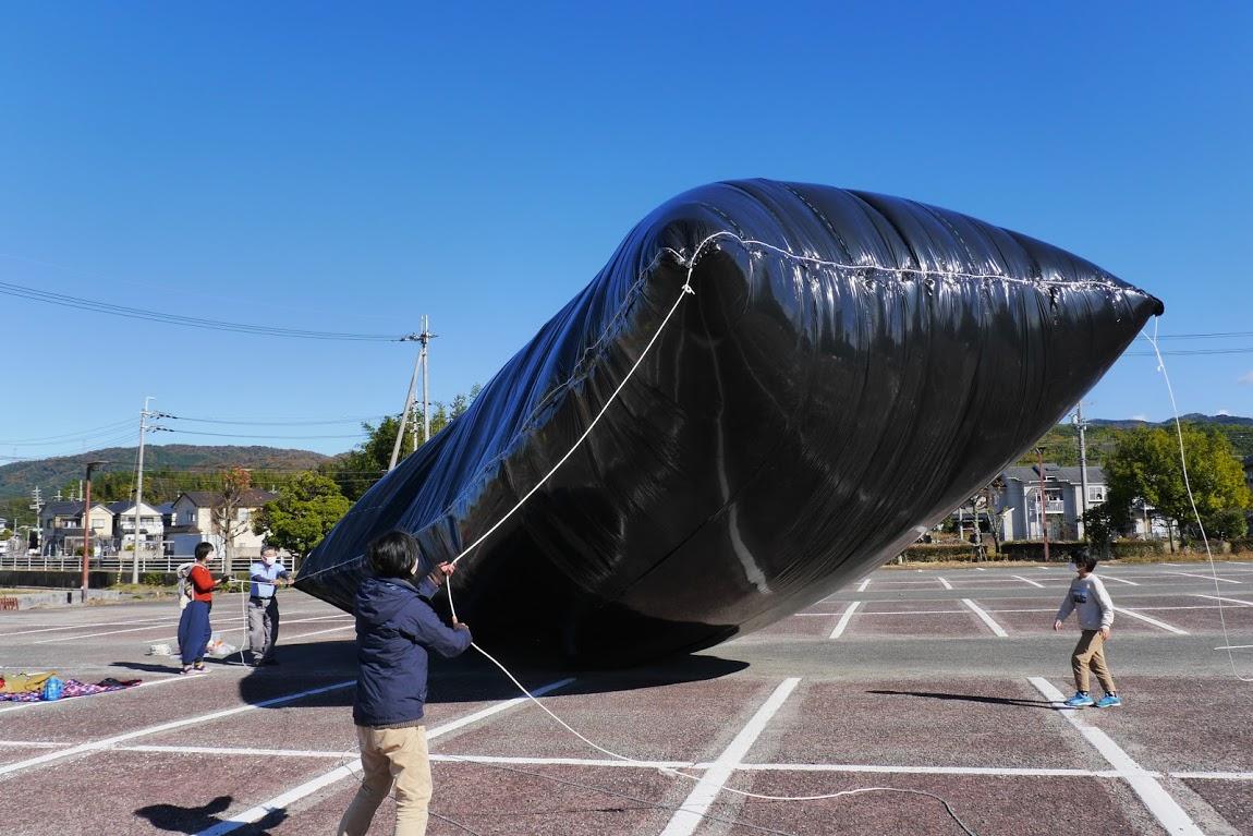 デカイ風船作ろう