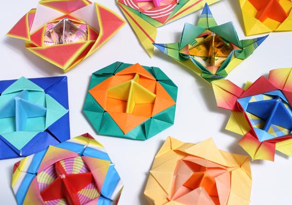 ハート 折り紙 コマの作り方 折り紙 : hagifood.com