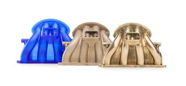 castable exhaust manifold polished Formlabs Releases Functional Resins: Flexible and Castable
