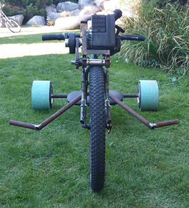 ratrod3 Allans Motorized Rat Rod Drift Trike