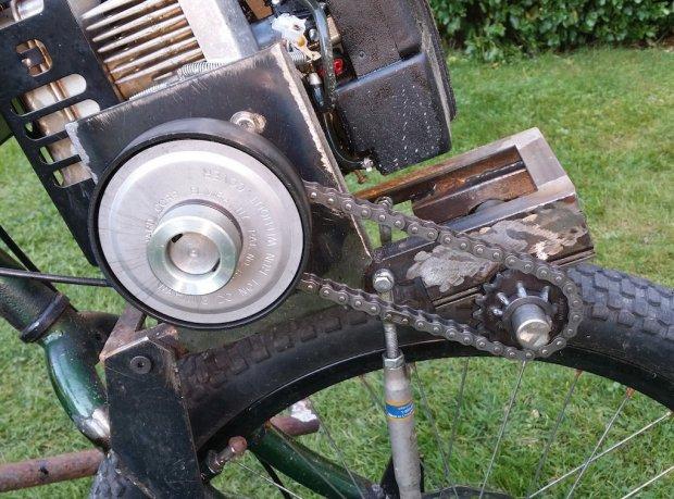 ratrod5 Allans Motorized Rat Rod Drift Trike