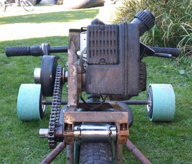 ratrod6 Allans Motorized Rat Rod Drift Trike