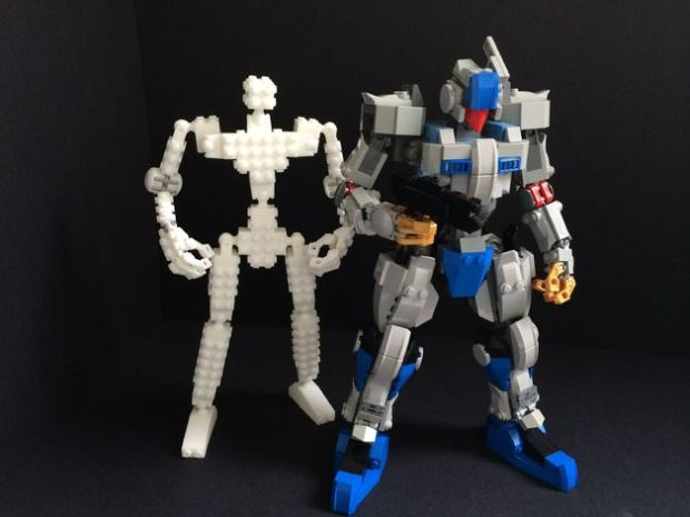 core bricks 3D Printed Lego Action Figure Rig
