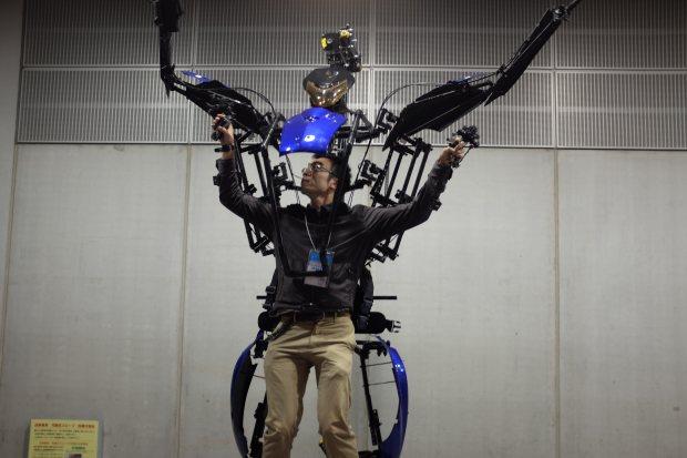 Skeletonics at Maker Faire Tokyo 2014