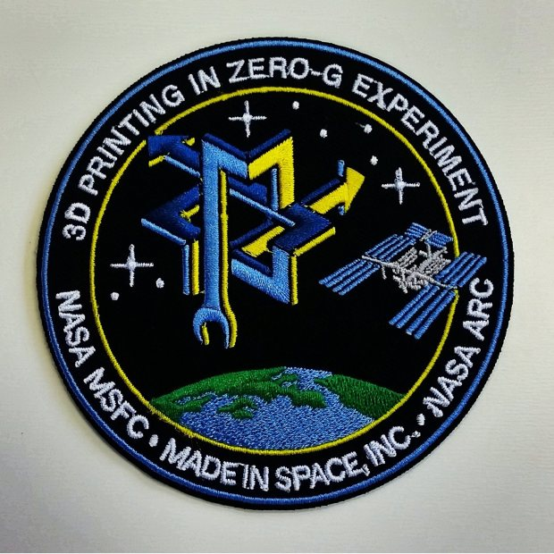 "The ""3D Printing in Zero-G Experiment"" is an additive manufacturing technology demonstration conducted by Made In Space and NASA's Marshall Space Flight Center."