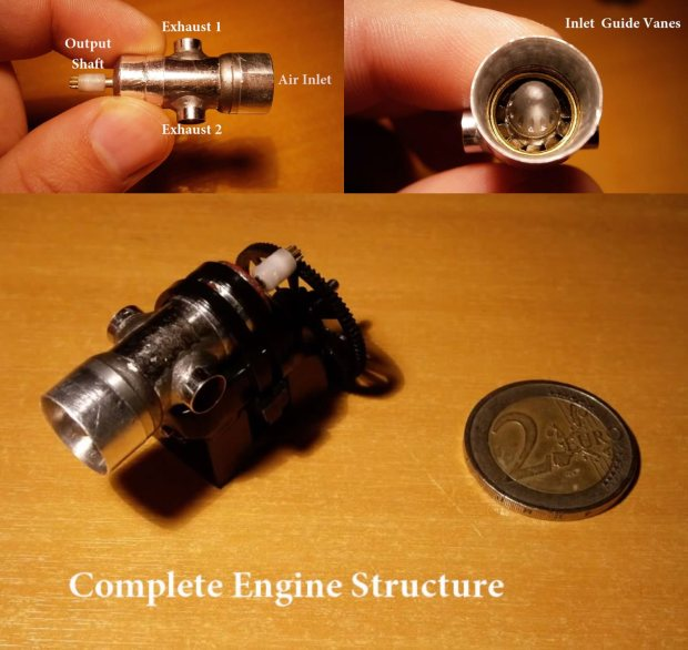 enginemini comp Micro Engines and Tools Made From Scratch