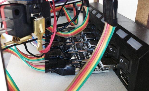 usb hub A Raspberry Pi Powered Bulk Arduino Programmer