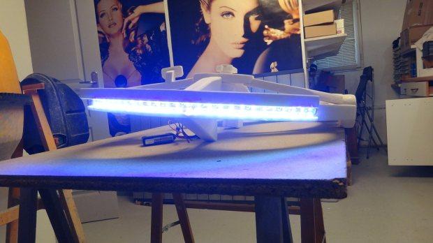 m335 34 Transform a Quadcopter Into a Flying Millennium Falcon