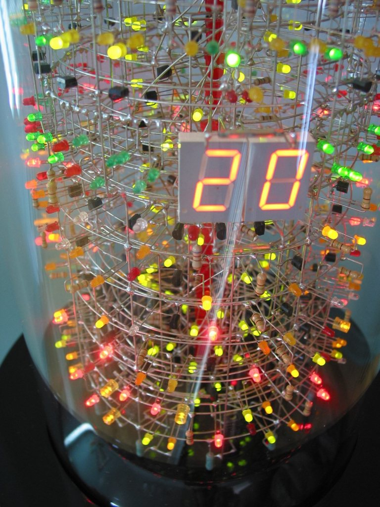 tower2 Soldering Savant Makes Insane 1,400 LED Tower