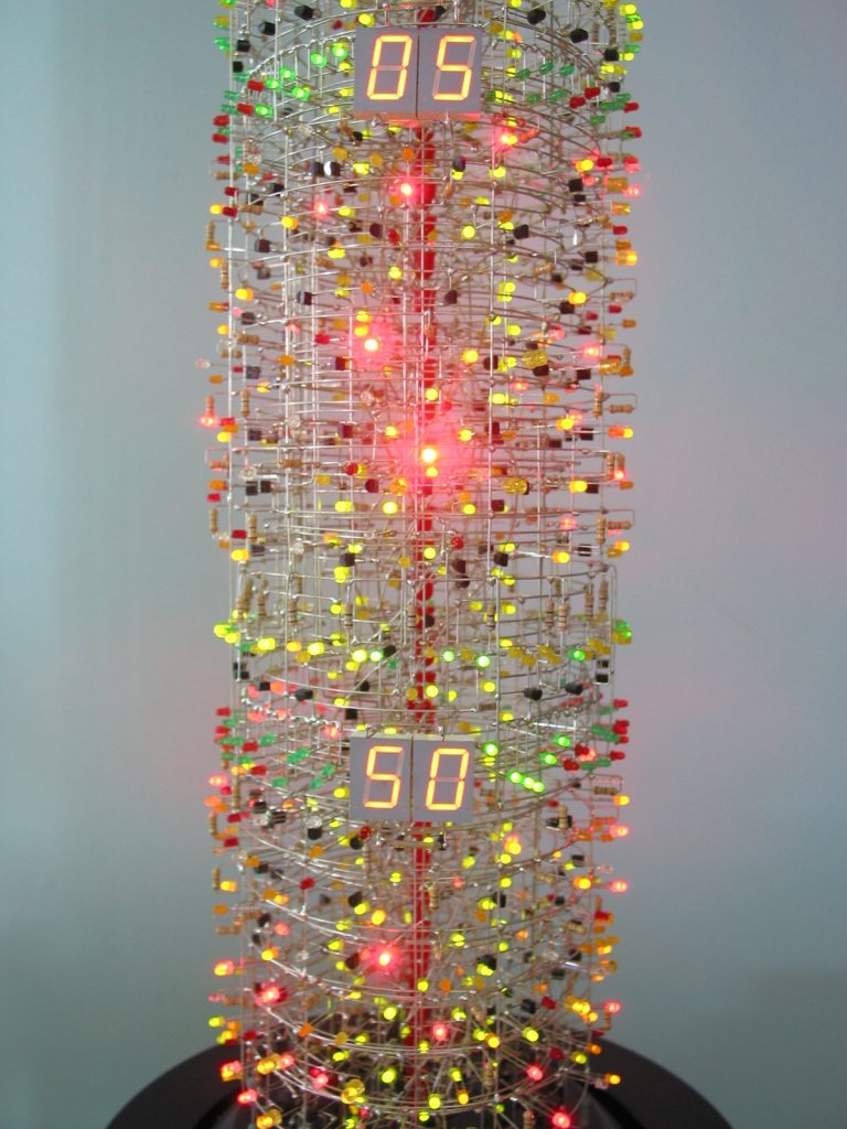 tower3 Soldering Savant Makes Insane 1,400 LED Tower
