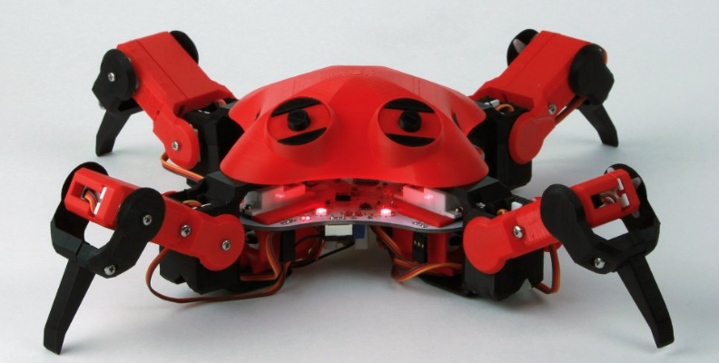 robot-quadruped-arduino-program