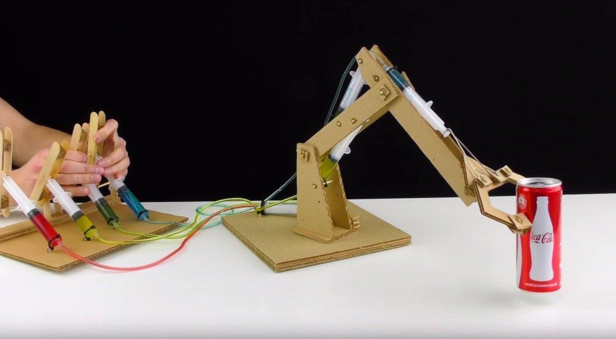 Make Japan 段ボールでロボットアームを作る