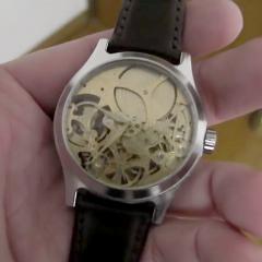 機械式腕時計を作ってしまった人